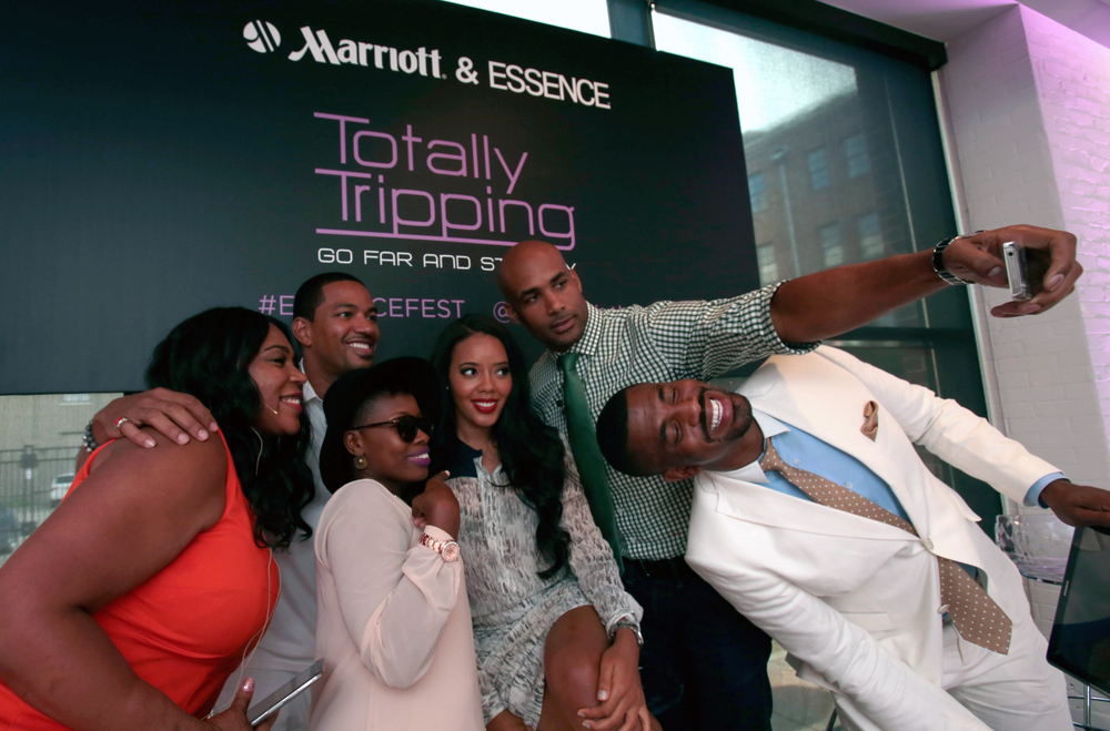 Marriott's Totally Tripping Love Travels Event 2014, Host