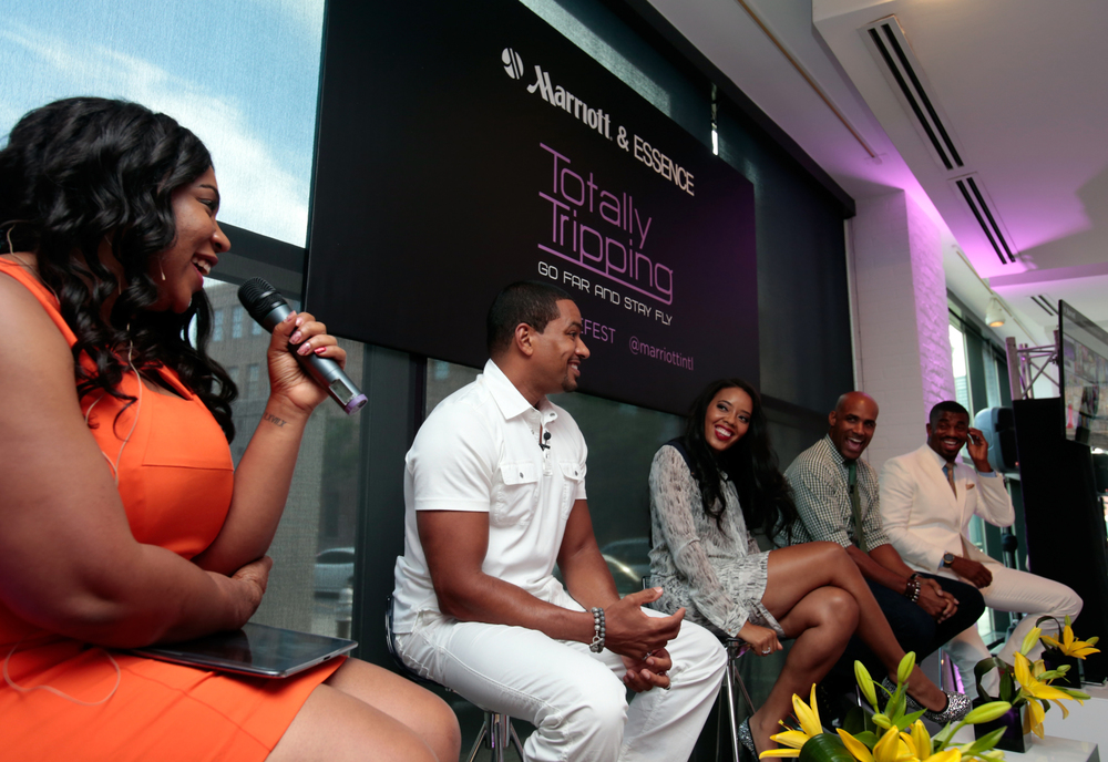Marriot's Totally Trippin' Event at ESSENCE Festival 2014, Host/Moderator