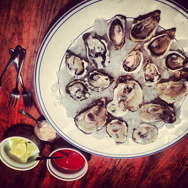 Farmed oysters are a tasty and sustainable choice.