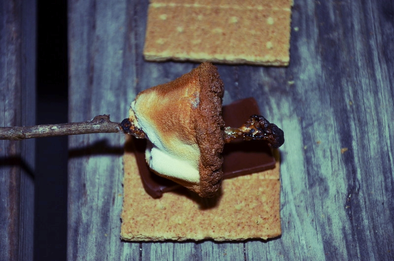 What's better than a fresh campfire s'more?