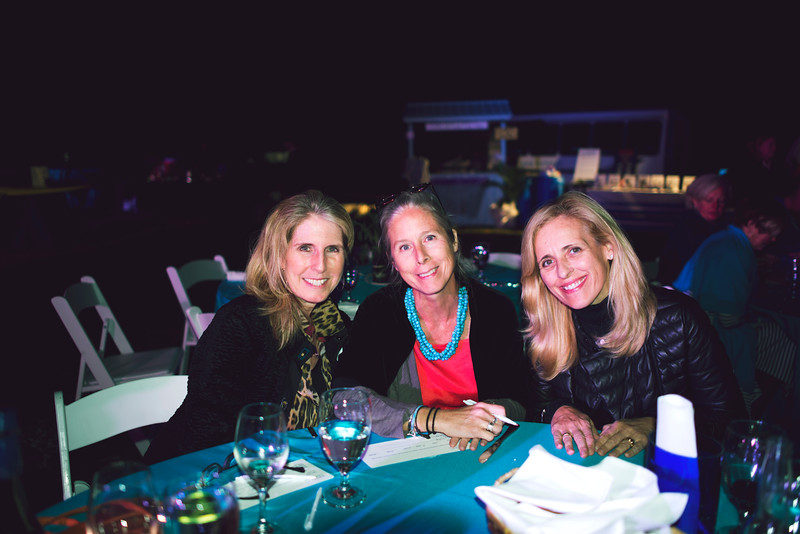 Guests at Octifest 2015 enjoy dinner under the stars.