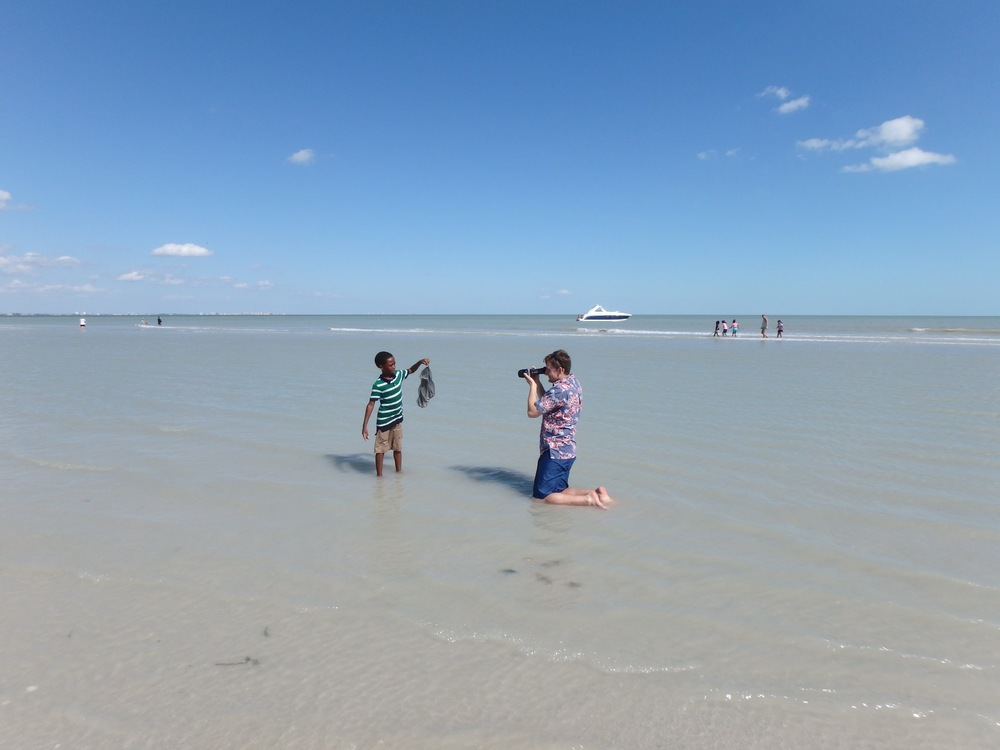 Filmmakers from SisBro Studios visited Sanibel Sea School to film a new television series.