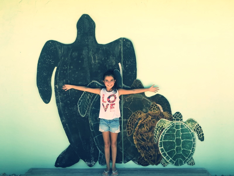 We made a stop at The Turtle Hospital on our way to Big Pine Key.