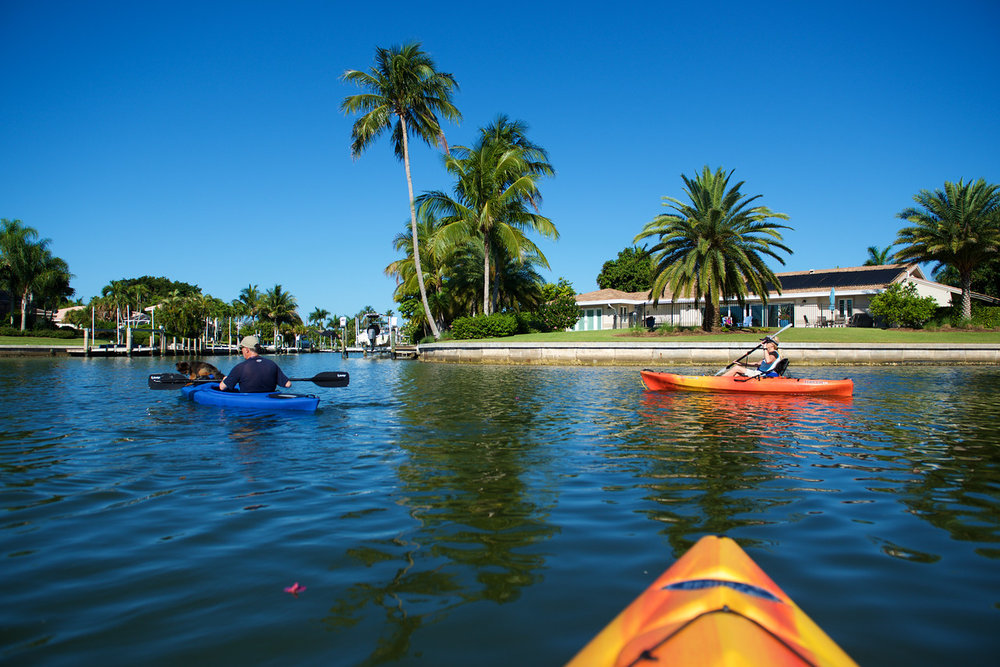 Sanibel Sea School's Ocean Tribe Paddling Club will host a Sanibel Canal Paddle in July.