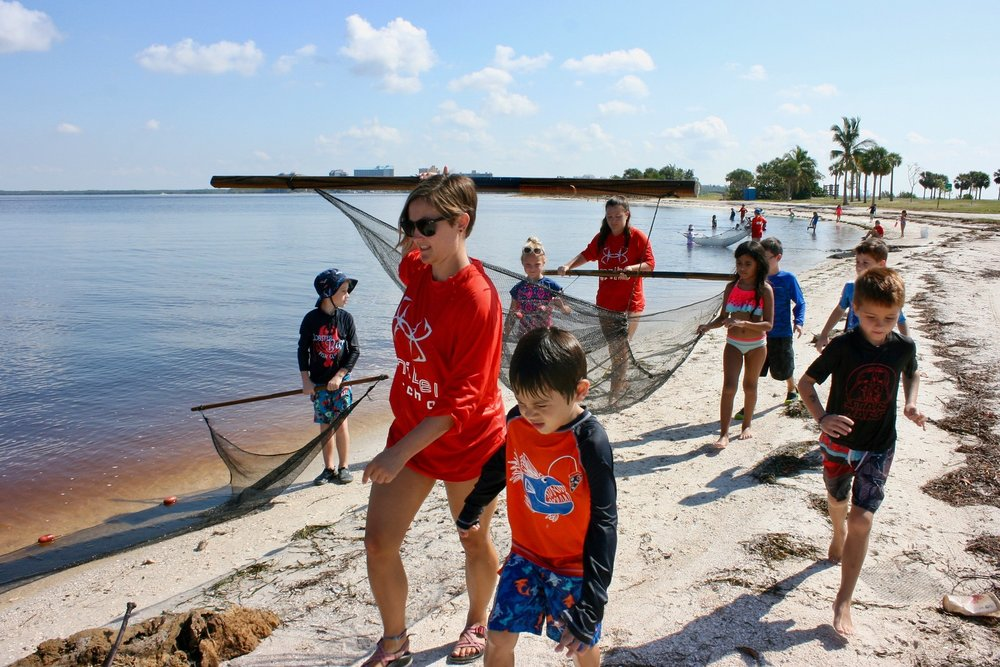 Local students enjoyed Sanibel Sea School's free Hurricane Camp in September.