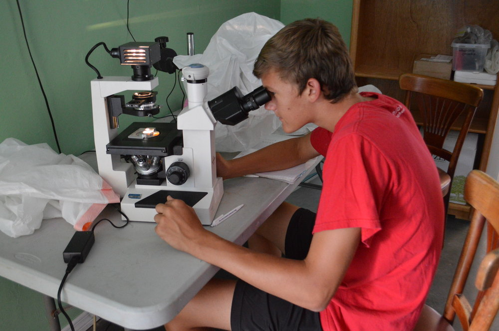 A new microscope will support science and technology education for Lee County students.