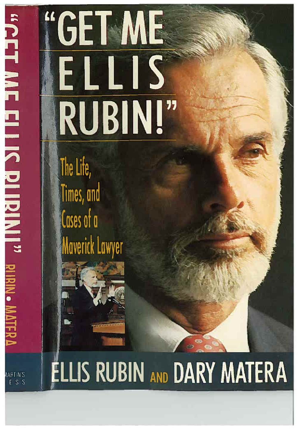 "Ellis S. Rubin co-authored a book about his life, ""Get Me Ellis Rubin!""  The book chronicles his remarkable career as one of Florida's most prominent attorneys, including his brief stint in jail when he refused to represent a client for moral reasons.  Download a copy of Rubin's book here."
