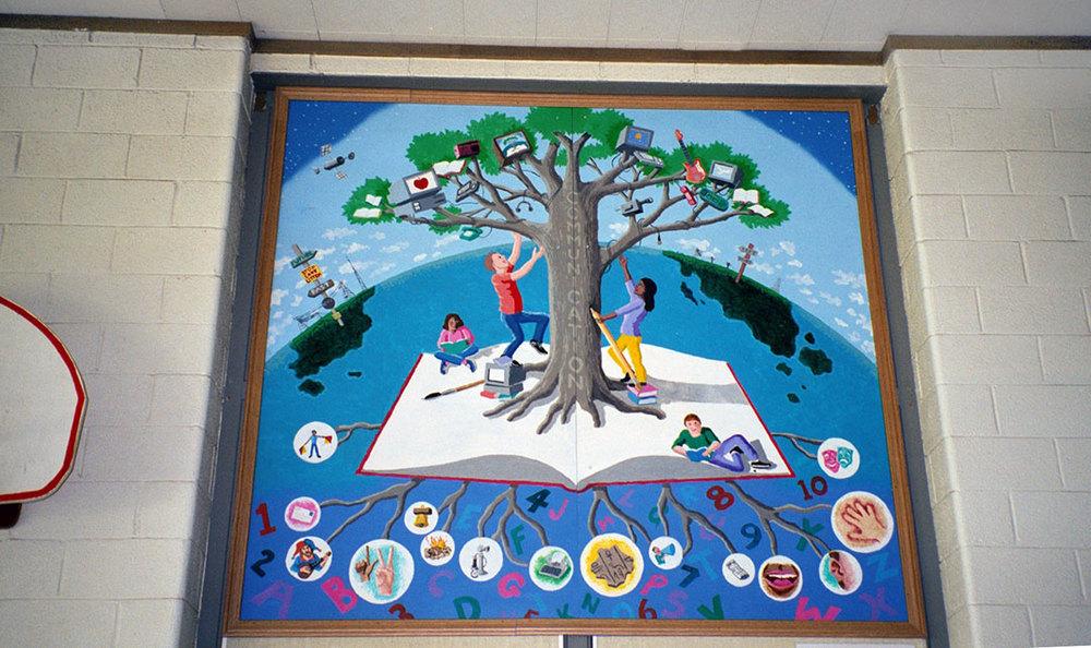 3rd grade mural
