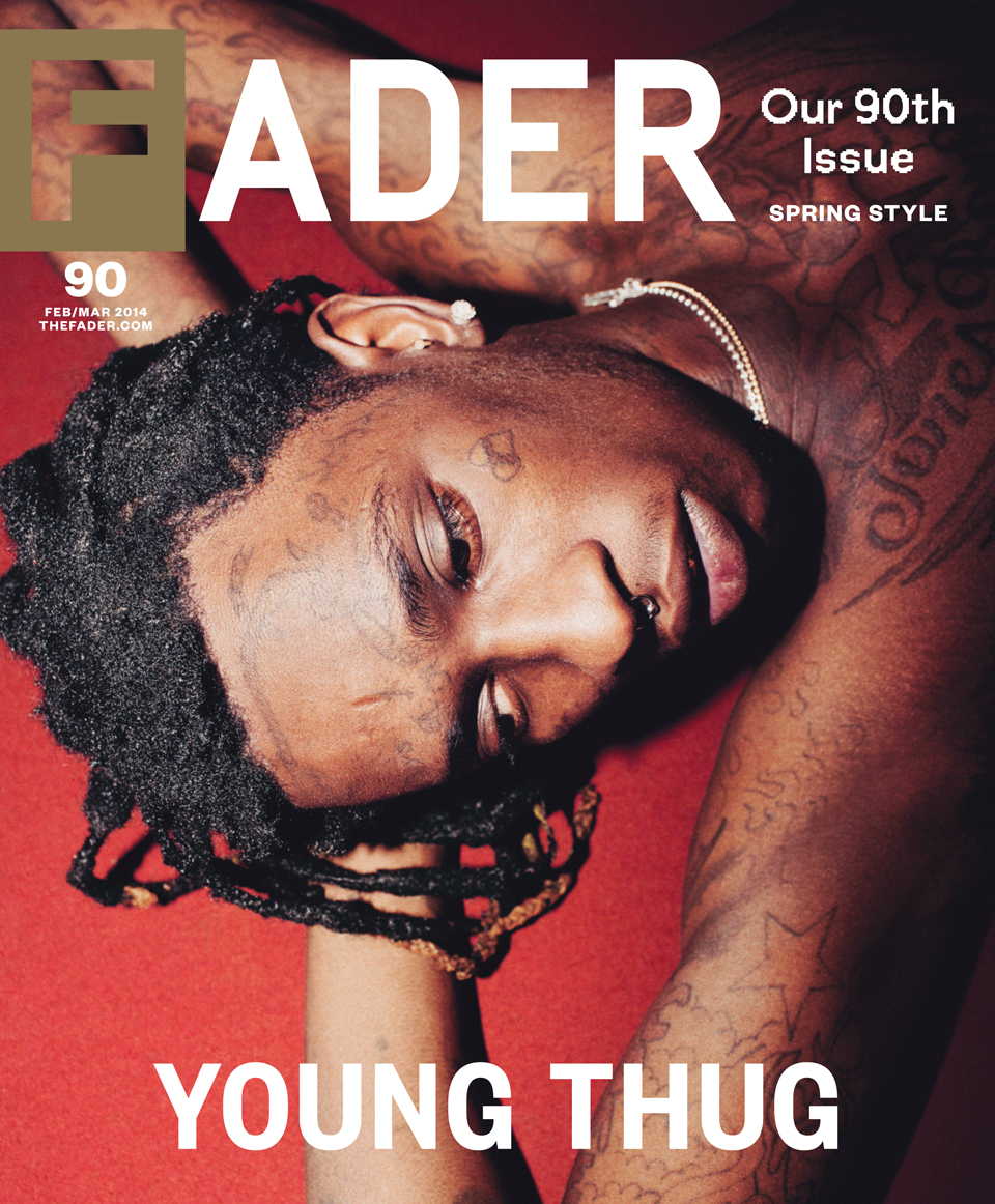 Guess who shot the most recent cover of FADER? | Brinson + Banks