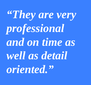 Joseph and his qualified team did a top notch job on two of my installation projects. They are very professional and on time as well as detail oriented. I would use them again for any other projects I have in the Denver area.  Holly Frush,  H Interiors , Dallas TX