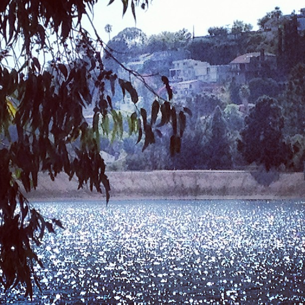 #silverlake thanks for #sparkling while I ran past you in the sweltering heat  (Taken with  Instagram )