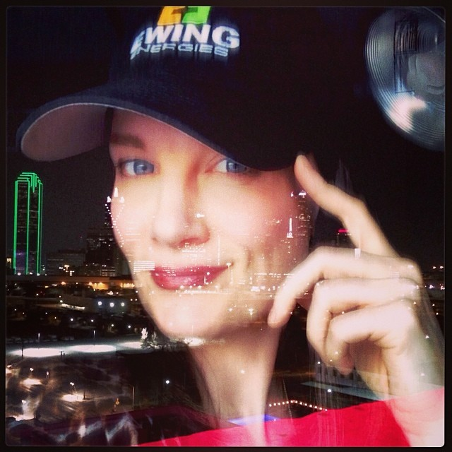 Tired but Hey y'all they gave me a #ewingenergies hat and it fits! Hats never fit me #yeehaw hahaha window #reflections of downtown #Dallas #texas it's been a blast!! See y'all next season! #dallastvshow cast and crew are so awesome #goodtimes #lucky #notabloodyselfie ;)