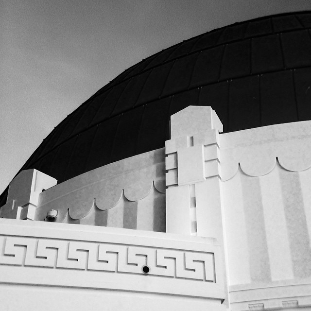 The shape of things #iheartla #griffithobservatory #griffithpark #love #losangeles #bandw #bw