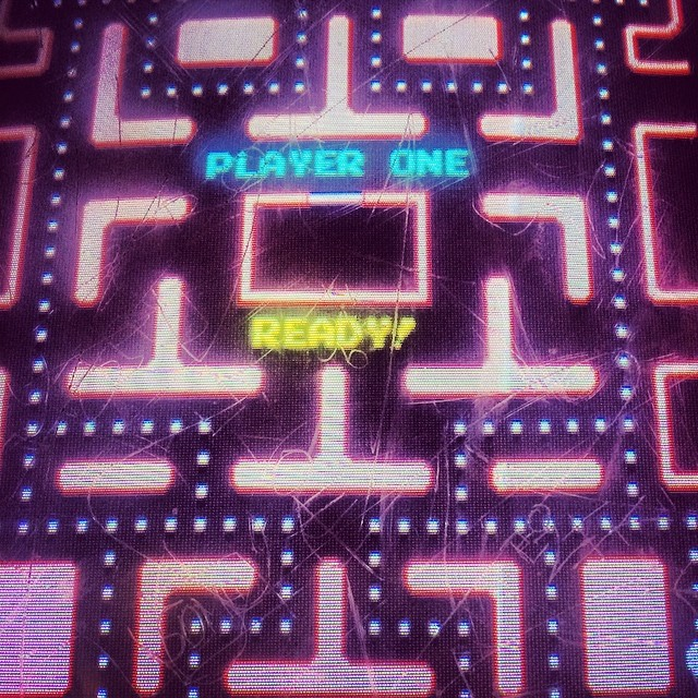 Perfect #Fridaynight with friends #childhood #obsession #mrspacman  #stillgood haha
