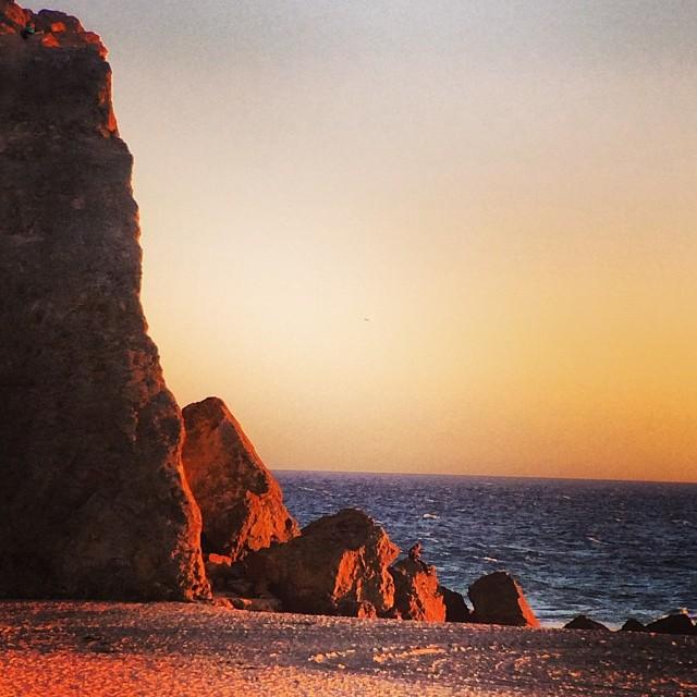 Good night sun. #pointdume #california #love #cliffs #rockclimbing #sunset