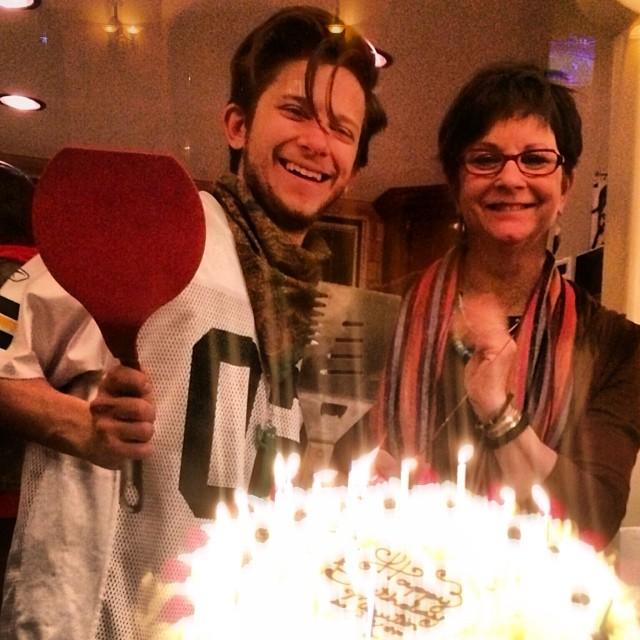 Happy birthday Martin Spatula! I mean @martinspanjers ;) love you! Xox #dxp #SuperBowl #birthday sundayfunday #love #hollywood #iheartla #goodtimes 🎉