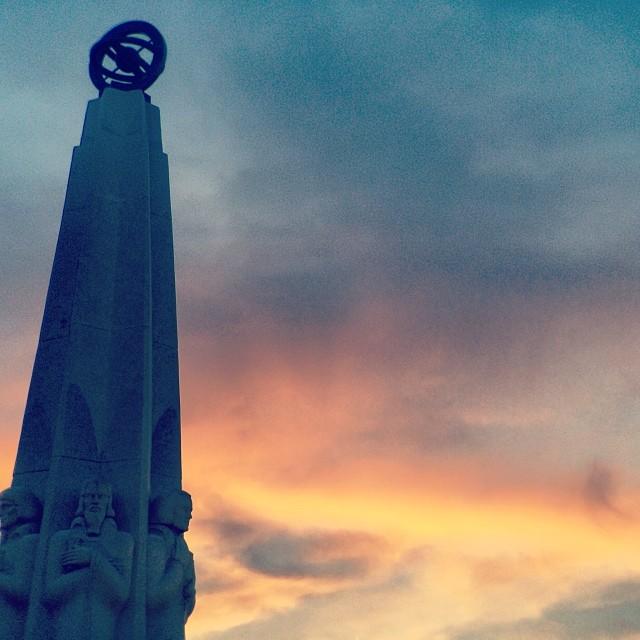 #iheartla ❤️😘😍 #losangeles #love #sunset #griffithpark #griffithobservatory