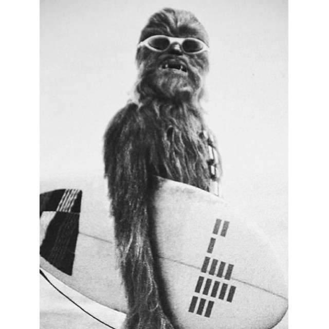 Have a great wookie! I mean week ;) #happy #monday