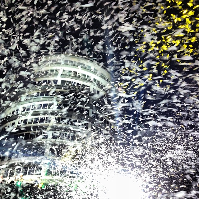 #arcadefire #thereflektors you rocked my world as always. Thank you for existing. #sogood #capitolrecords #musicexperiment #confetti #love