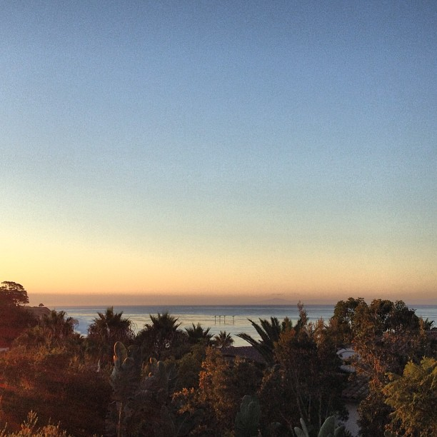 Good morning #santabarbara #sunriseporn