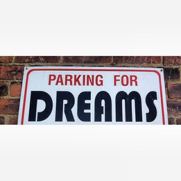 Parking for #dreams #toronto #love #canadaeh