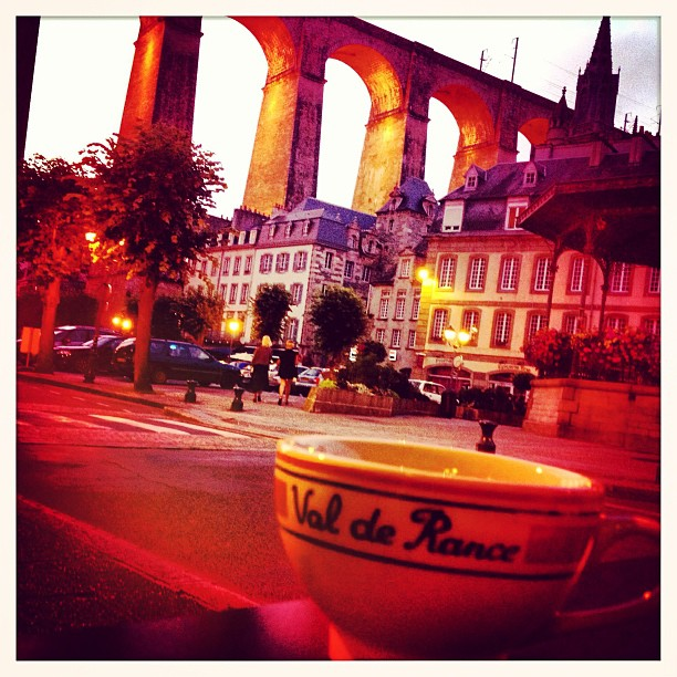 #throwbackthursday drinking #cider in #morlaix #france #goodtimes #tbt #mycastingtravels #luckygirl