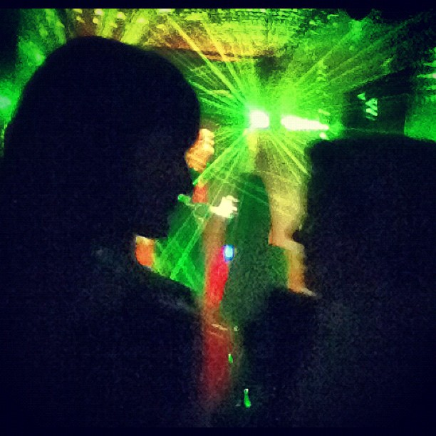 Crazy #lasers at #mariondavies apartment weird #oktoberfest party @louloulinz @jasmincharters  (Taken with  Instagram )