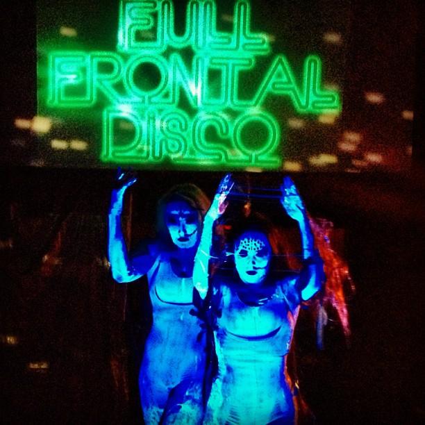 Full frontal #disco #akbar craziness! @jasmincharters @spizzazz once in a lifetime haha fun #dancing  (Taken with  Instagram )