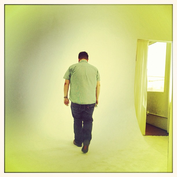 #casting all day can make you walk into #white #walls @jarnhold makes it all better  (Taken with  Instagram )