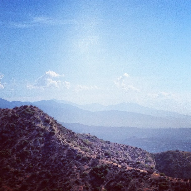 Morning #hike quite the view #california wishing I was camping #campvibes at heart today  (Taken with  Instagram )