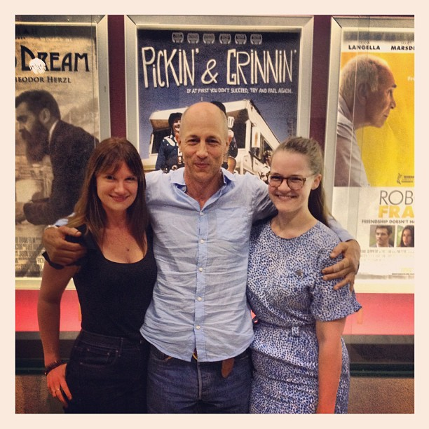 Ahhh everyone go see Pickin' n' Grinnin' directed by the awesome @jongries soo good. Love u Jon! Fab job. @jasmincharters @louloulinz @rodneykiwi #pickinngrinnin #unclerico xo (Taken with  Instagram )