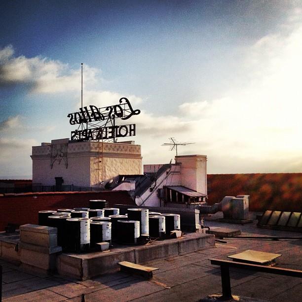 #california #rooftop #light  (Taken with  Instagram )