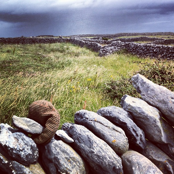 #irish #tweed blowing in the wind #aran #islands  (Taken with  Instagram )