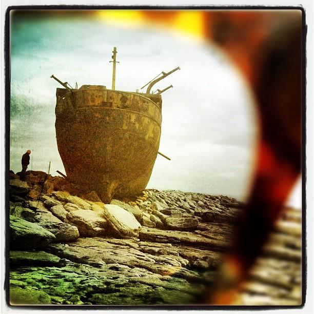 #shipwreck #aran #islands #throughtheeyes of my @raen_optics  (Taken with  Instagram )