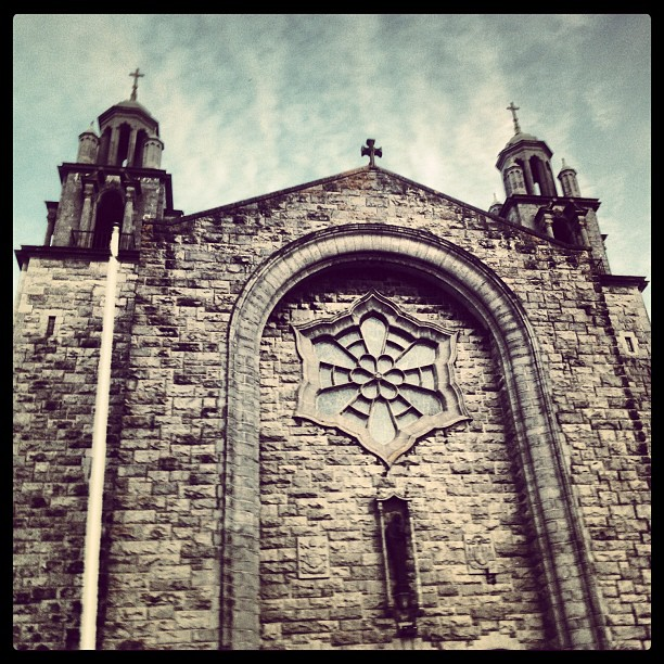 #church #2 #galway #drivebyshot from taxi  (Taken with  Instagram )