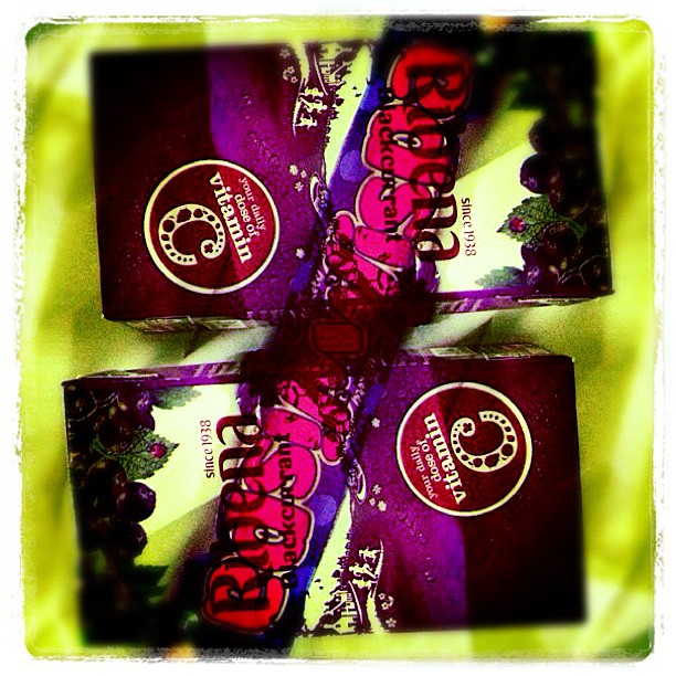 Couldn't help it. Had to get my fix #ribena #wispa #childhood #sweets (Taken with  Instagram )