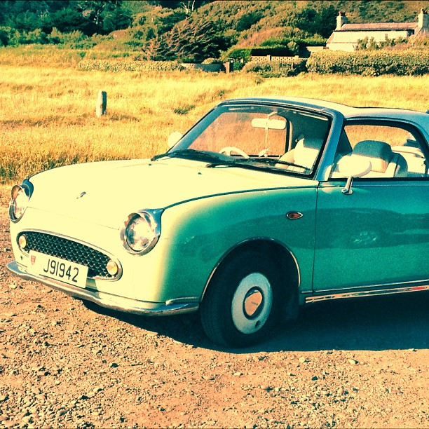 #parkinglotelegance #jersey #english channel anyone know what this is? Gorgeous #car (Taken with  Instagram )