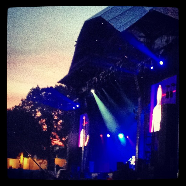 #backstage view of #sting at #vieillescharrues thanks @richaucoin ;) (Taken with  Instagram )