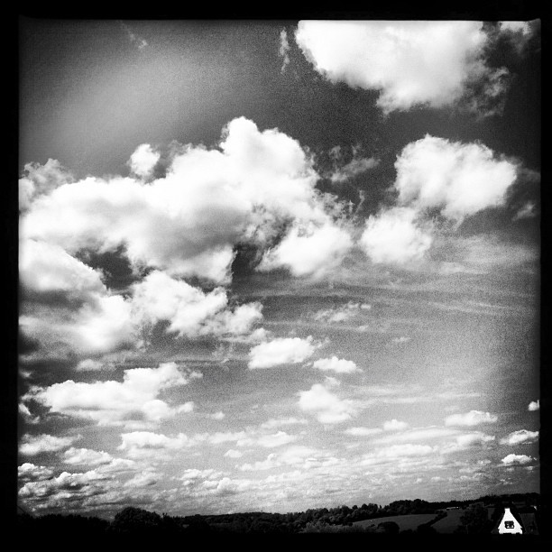 Big #sky #petite #french #house  (Taken with  Instagram )