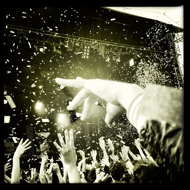@richaucoin being awesome #vieillescharrues  (Taken with  Instagram )