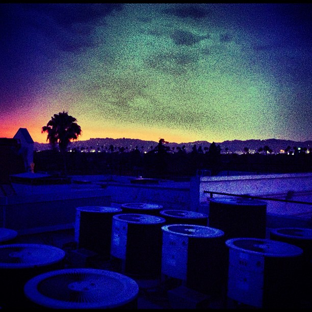 #rooftop #sunset #lost #angels #LA  (Taken with  Instagram )