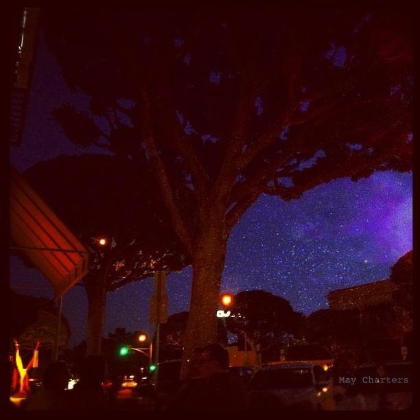 Modern day #vangogh #cafe #scene  (Taken with  instagram )