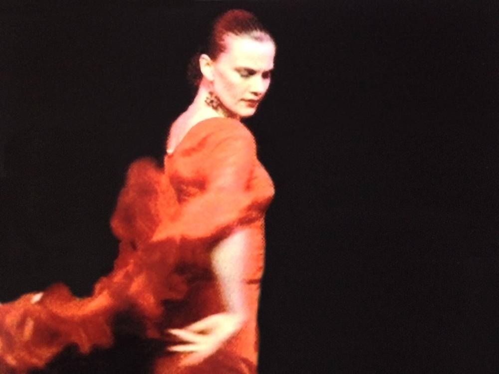 May Charters Dancing Flamenco