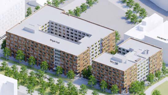 UW Student Housing - Maple and Terry Halls