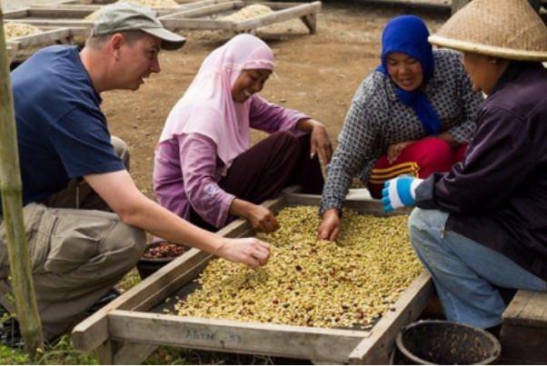 MOUNT KERINCI COFFEE PROCESSING
