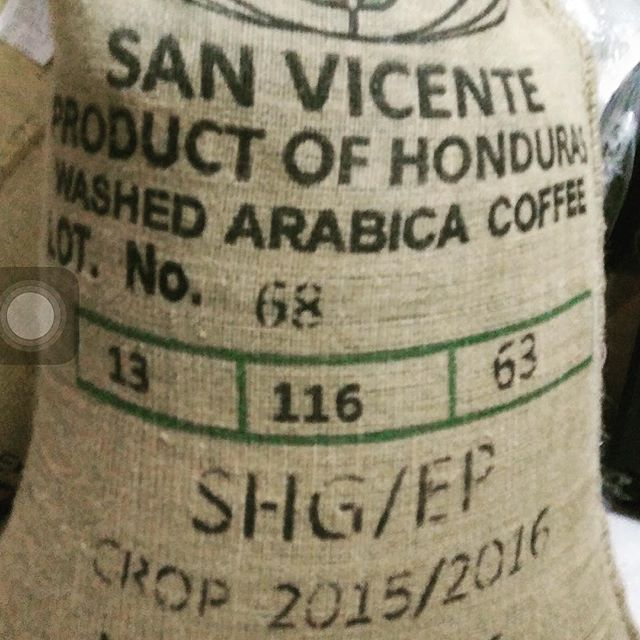 New Arrivals - Honduras San Vicente SHG.  This will be our best selling green coffee of 2017. Super versatile, clean, sweet and at a great price. Get yours while you can!  Info@gftcoffee.com / +852 8192 8870