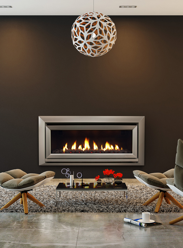 Escea DL1100 High Efficiency Fireplace
