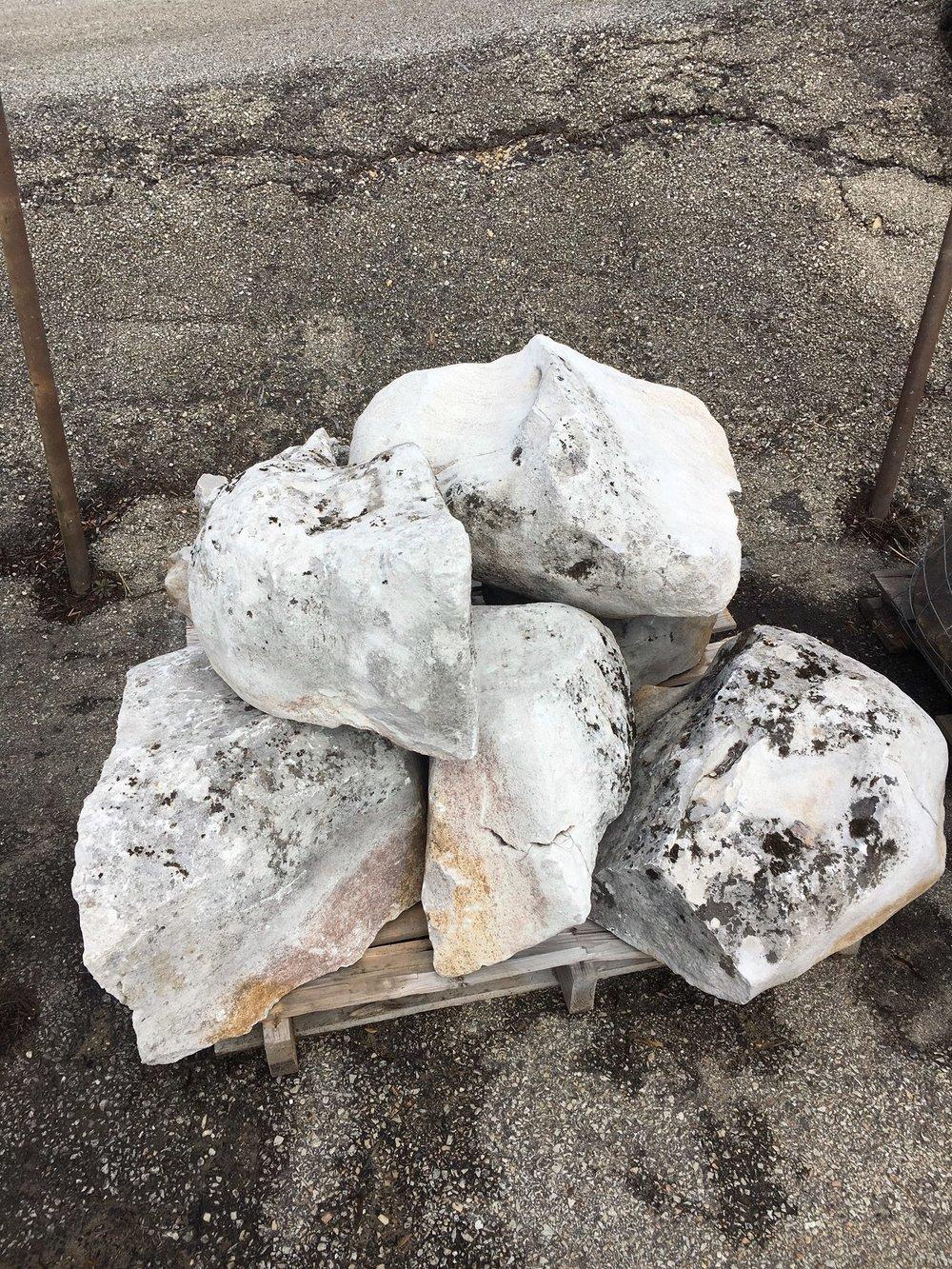 Ghost Boulders