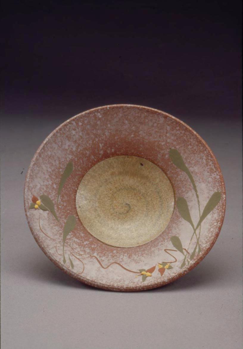 """4"""" diameter decorated dish"""