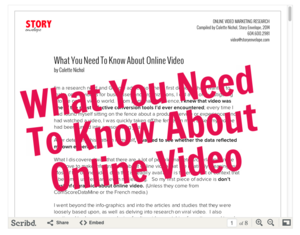 What You Need To Know About Online Video